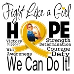 Fight We Can Do It Appendix Cancer Shirts