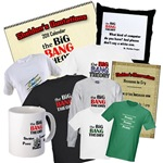 The Big Bang Theory t-shirts and more