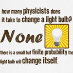 Physicists Light Bulb