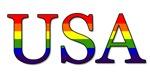USA Rainbow Flag