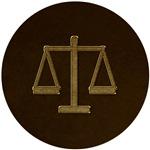 Elegant Scales of Justice Symbol