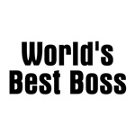 World's Best Boss (b/w)
