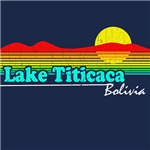 Retro Lake Titicaca T-Shirt