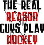 Real reason play hockey