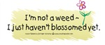 I'm not a weed - Student Nurse