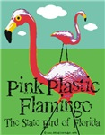 Pink Plastic Flamingo