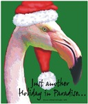 Flamingo Santa Claus