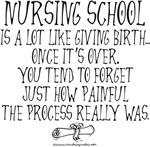 Nursing School like Birth