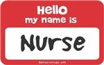 Nurse Name Tag