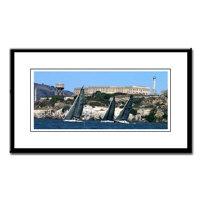 Alcatraz Island, SF Bay framed photographs