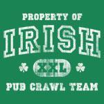 'Vintage' Pub Crawl Team