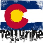 Telluride Grunge Flag