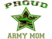 Proud Army Mom > Military T-Shirts & Gifts