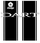 Dodge Dart Racing Stripes
