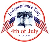4th of July - Independence Day USA
