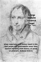 History Failure of Government: Hegel Quote