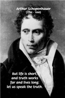 Truth and Life: German Philosophy Schopenhauer