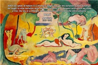 Henri Matisse Joy of Life Artwork Nature Quote