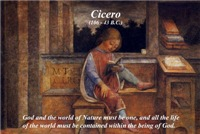 Cicero: God Nature One