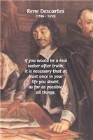 French Philosopher Rene Descartes on Doubt