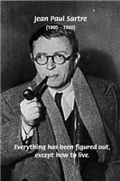 French Existentialism Philosophy: Sartre