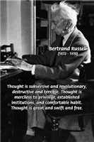 Bertrand Russell: Philosophy of Thought