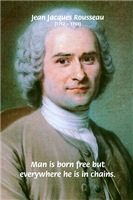 Rousseau: Man is Born Free
