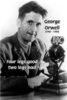 Political satire: George Orwell's Animal Farm