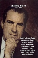 Inspiration from US President Richard Nixon