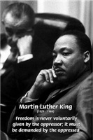 Freedom from Oppression: Martin Luther King Jr