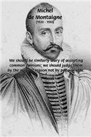 Individual Freedom: Montaigne and Conformity