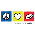Peace Love Rugby