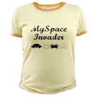 Women's MySpace Invader T-shirts