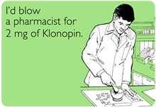 Pharmacist Klonopin