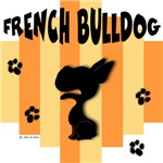 French Bulldog Yellow/Orange Stripe