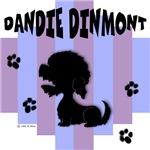 Dandie Dinmont Terrier Blue/Purple Stripe