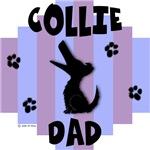 Collie Dad - Blue/Purple Stripe