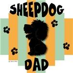 Sheepdog Dad Green/Orange Stripe