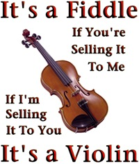 Fiddle or Violin