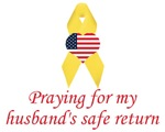 Praying for my husband's safe return items