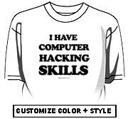 I have computer hacking skills