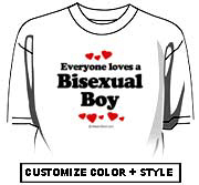 Everyone loves a Bisexual boy