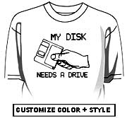 My disk drive