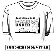 Australians do it down under