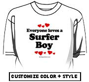 Everyone loves a surfer boy