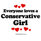 Everyone loves a conservative girl