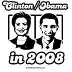 Clinton / Obama in 2008