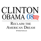 Clinton/Obama: Reclaim the American Dream