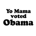 Yo mama voted Obama