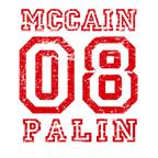 MCCAIN PALIN 08 Red